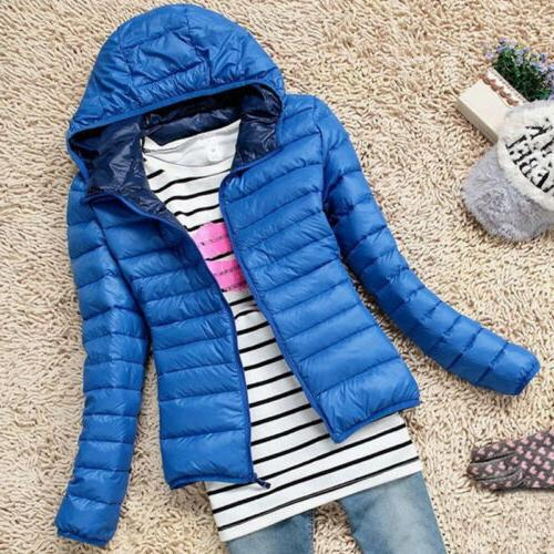 Women's Winter Hoodie Puffer US