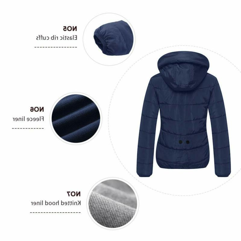 Wantdo Quilted Puffer Jacket Hood