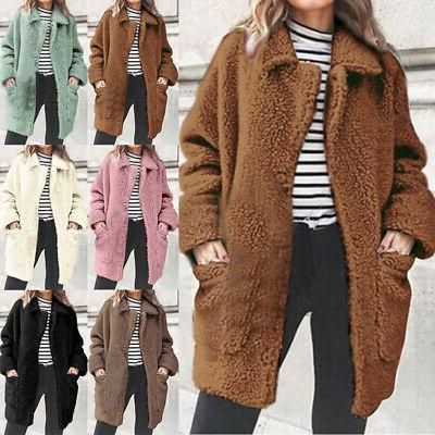 Women Winter Fur Fleece Oversized Jacket Sale