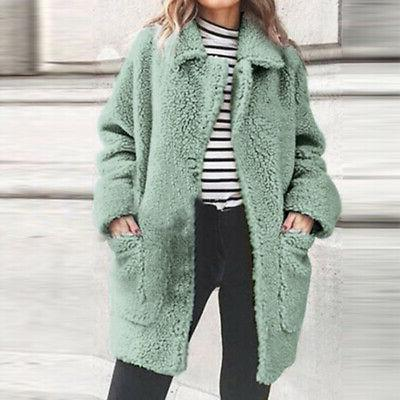 Women Winter Fur Jacket Cardigan Plus Sale