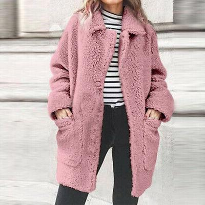 Fur Fleece Oversized Cardigan Sale