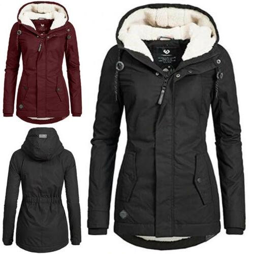 A WOMEN'S TRENCH HOODED OVERCOAT