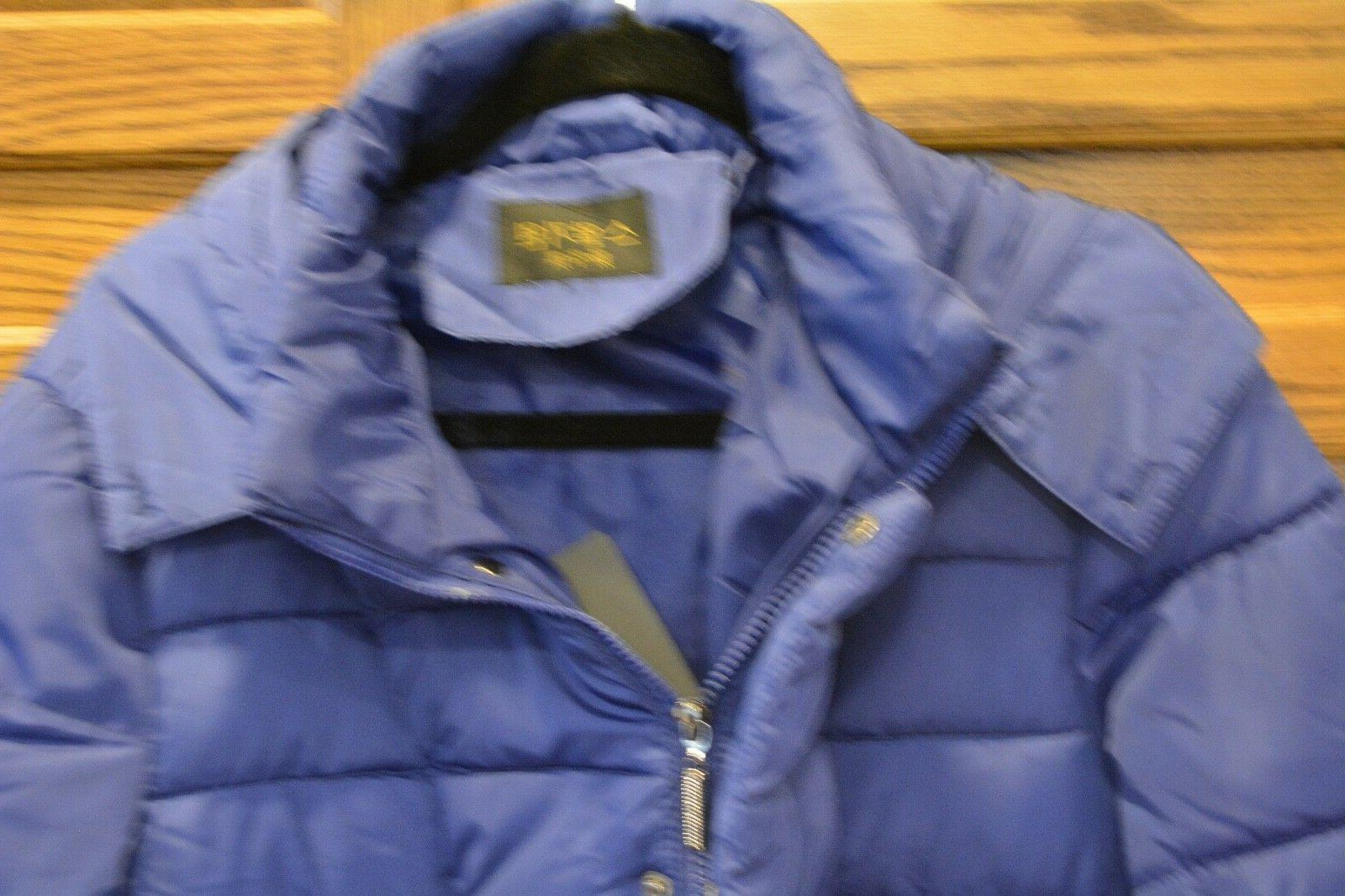 Womens Filled Winter Parka Blue Color New and Top Quality