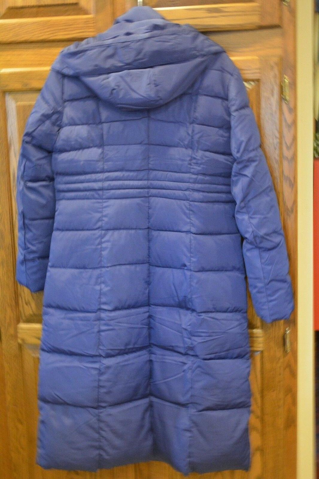Womens Down Warm Winter Parka Blue Color New Top Quality