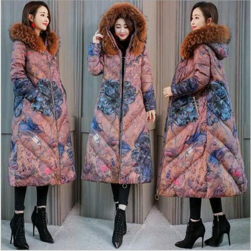 Womens Fashion Collar Jacket Winter Warm Padded Coat