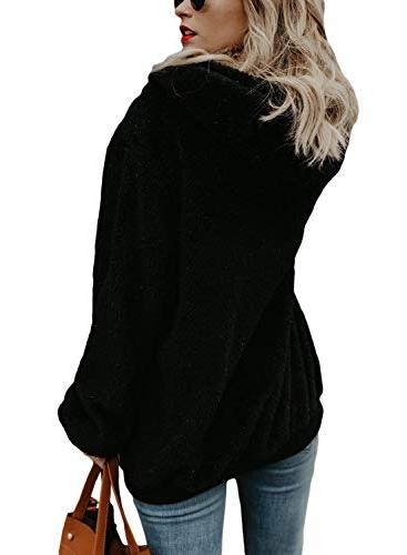 Beautife Womens Casual Oversized Pullover