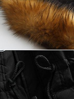 4HOW Womens Hooded Warm Winter Parkas