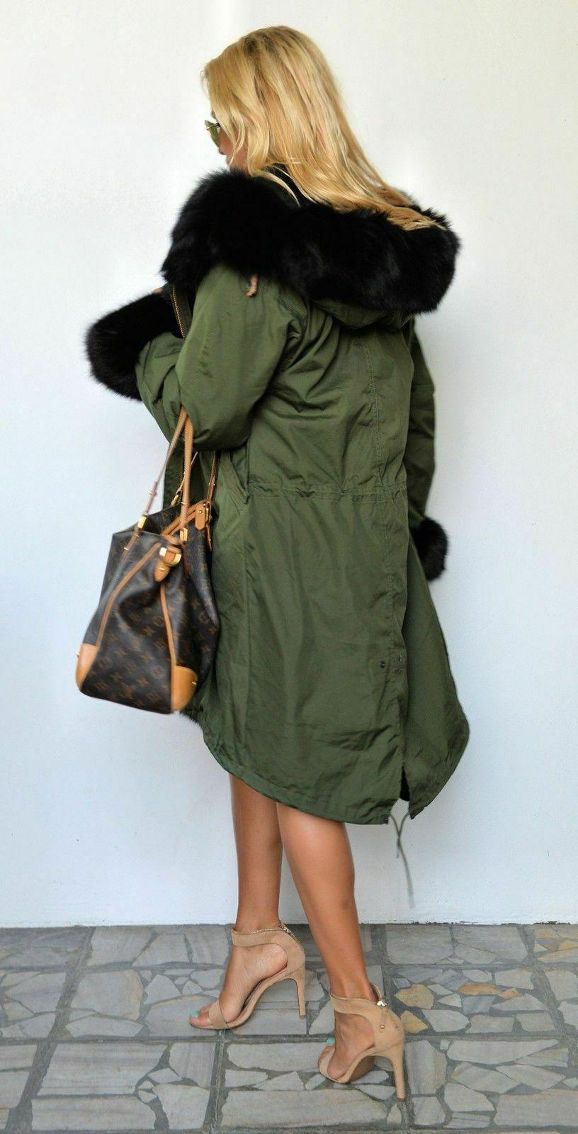 Winter Thick Lining Hooded Coats