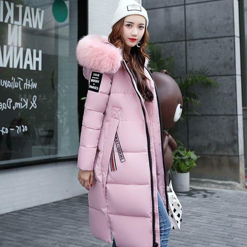 Womens Warm Hooded Down Winter Padded Puffer Coat