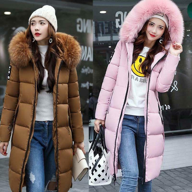 Womens Hooded Winter Quilted Padded Coat