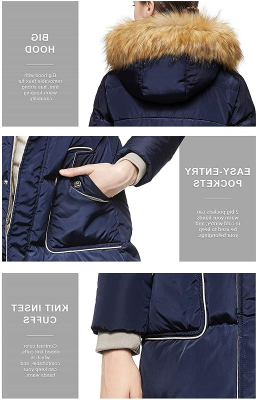 Orolay Down Coat with Hood Jacket