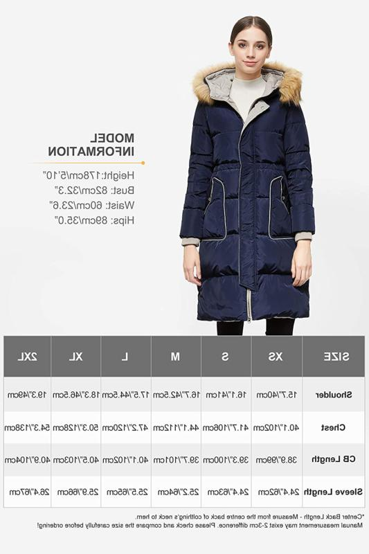 Orolay Women's Down Coat Casual Jacket