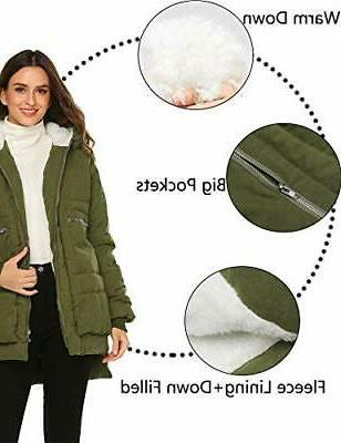 Beyove Womens Front Down Jackets Warm w