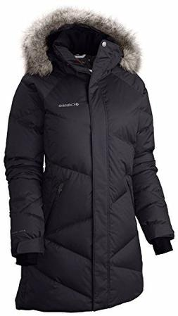 Columbia Women's Lady D Down Mid Winter Omni Heat Puffer Jac