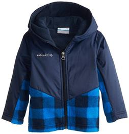 Columbia Little Boys' Steens Mt Overlay Hoodie, Hyper Blue/L