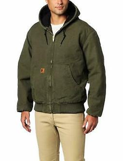Carhartt Men's Big & Tall Quilted Flannel-Lined Sandston