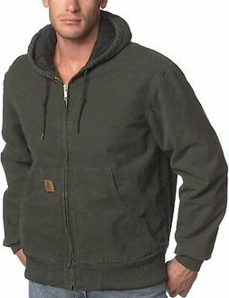 Carhartt Men's Big & Tall Quilted Flannel-Lined Sandstone Ac