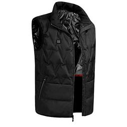 Tomorrow Sun Shine Men's Electric Heated Vest USB Charging H