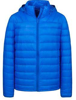 Wantdo Men's Packable Lightweight Puffer Down Jacket Winter