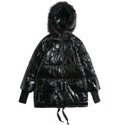 Men's Warm Down Cotton Jacket Hooded Thick Winter Coat Parka
