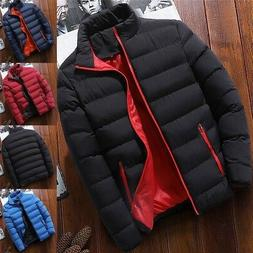 Men's Winter Warm Down Jacket Thick Ski Outerwear Snow Puffe