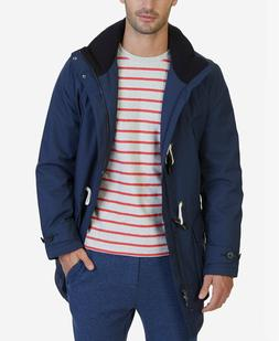 Men Winter Jacket Nautica Weather-Resistant Hooded Toggle Co