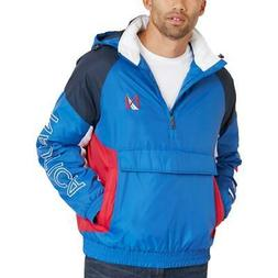 Nautica Mens Winter Hooded Active Pullover Coat Outerwear BH