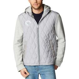 Nautica Mens Quilted Jacket Fall Water Resistant Coat Outerw