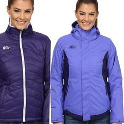 THE NORTH FACE MOSSBUD SWIRL TRICLIMATE 3IN1 JACKET WOMENS S