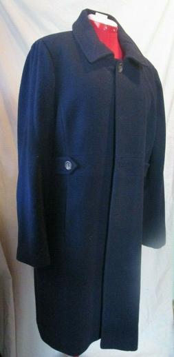 BGSD Navy Blue Wool Winter Coat Size 2X ~ New, with tags