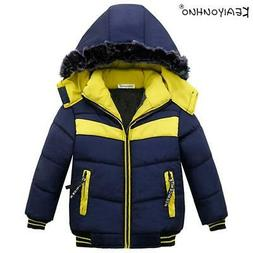 New Jackets For Boys Clothes 2018 Winter Hooded Down Jacket