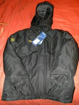 new men s black ski jacket winter