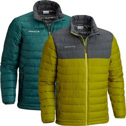 "New Mens Columbia ""Powder Lite"" Puffy Omni-Heat Winter Jacke"
