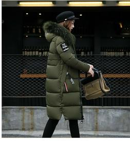New Plus Size Winter Women's Long Down Coat Delivery In Abou