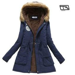 new winter military coats women cotton wadded hooded jacket