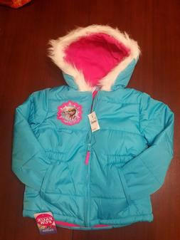NEW with tags Girls size 4T Disney Frozen Puffer Coat /Jacke