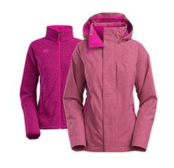 NEW! THE NORTH FACE WOMEN'S KALISPELL TRICLIMATE JACKET Dram