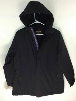 new womens black winter coat very soft