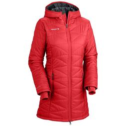 "New Womens Columbia ""Mighty Lite"" Omni-Heat Insulated Hooded"