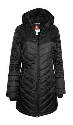 New Womens Columbia Morning Light Omni Heat Hood Long Winter