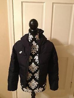 NWOT Abercrombie Kids WINTER COAT With Hood Girl's Size Larg