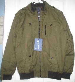 NWT Wantdo army green Winter Fall coat lined size small wome