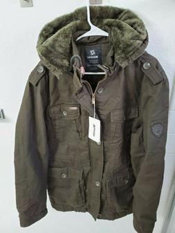 NWT Wantdo Men's Winter Quality Outwear Coat w/ Removable Ho