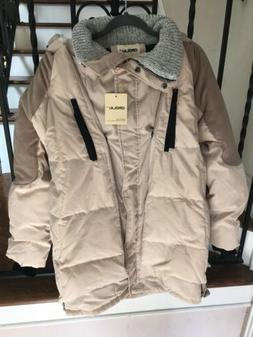 NWT Size Large OROLAY Women's Thickened Duck Down Jacket Coa