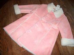 NWT Gymboree Snow Angels Puppy Love Pink Faux Suede & Sherpa