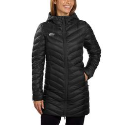 NWT Women Black The North Face Trevail hood Parka Winter Dow