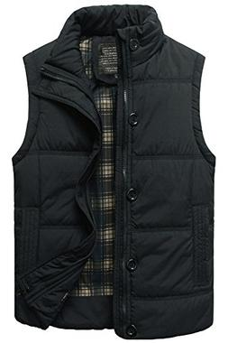 padded warmer puffer vest active