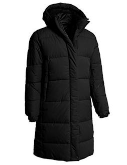 H2H Men's Parka Coat Winter Long Sections Loose Wadded Jacke