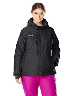 Columbia Women's Plus Alpine Action Oh Jacket, Black, 2X