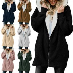 plus size women s fuzzy fluffy coat